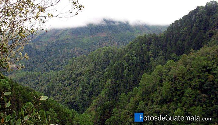 Alta Verapaz al norte de Guatemala